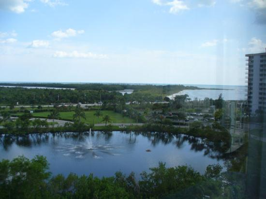 Lovers Key Resort: view from room to the south