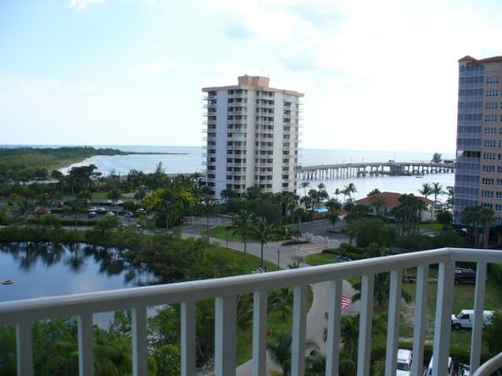 Lovers Key Resort: view from room to the southwest