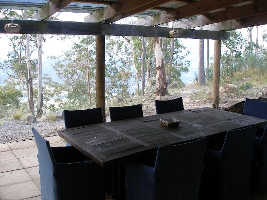 Backyard Getaways Herrin Il : View from our lodge  Foto di Eaglereach Wilderness Resort, Vacy
