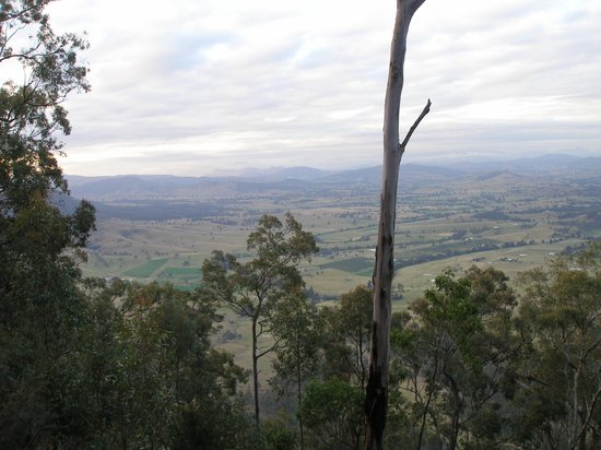 Vacy, Australia: View from our lodge