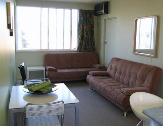 Birches Serviced Apartments: The Living Room