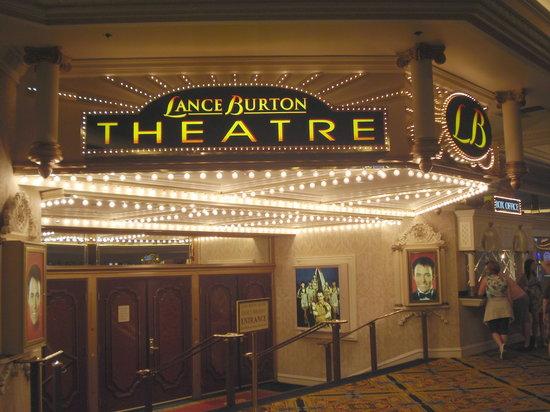 Lance Burton Master Magician : Lance Burton Theatre