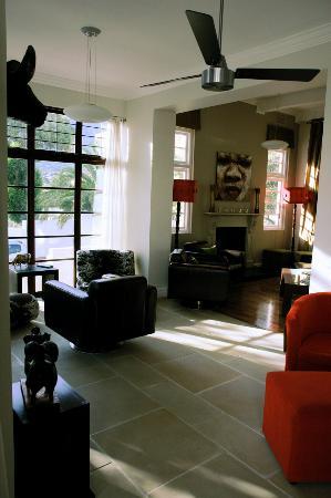 Derwent House Boutique Hotel: Living room
