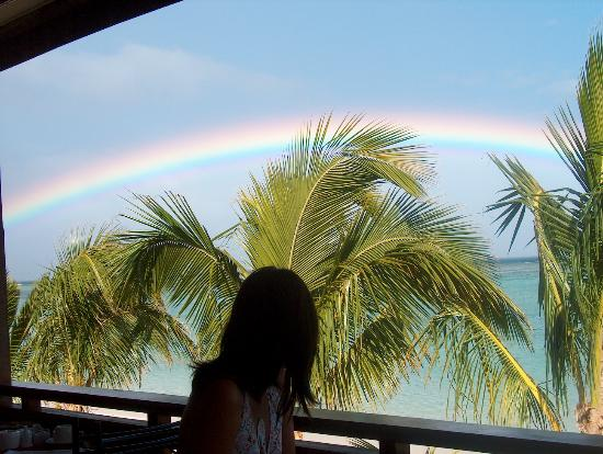 LUX* Le Morne : Rainbow for Breakfast