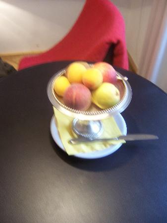 Hollmann Beletage: fresh fruit on arrival