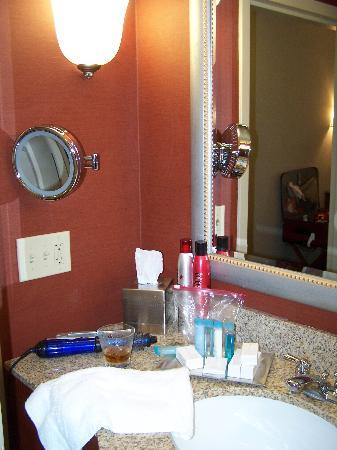 Hilton Columbia Center : bathroom counter area