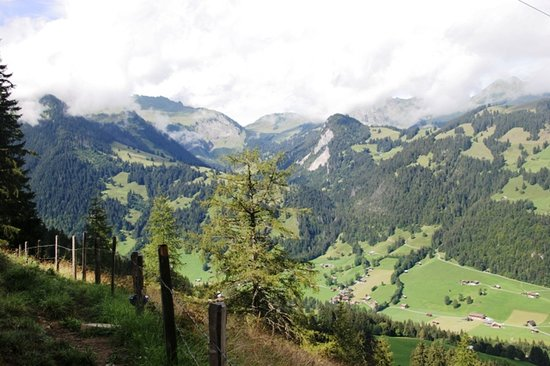 Gstaad, Switzerland: Mountain Scene 2