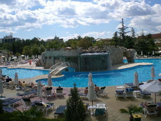 DIT Evrika Beach Club Hotel: Balcony view