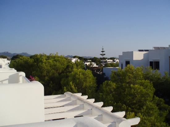 Club Calimera Es Talaial: View From Balcony