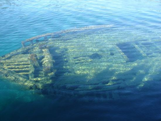 Peacock Villa Motel: Ship Wreck in Big Tub Harbour