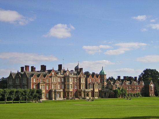 Sandringham House, Norfolk, England,