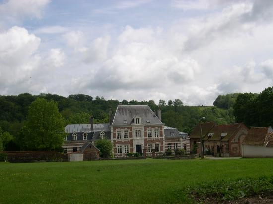 Embry, France: Front View of the Chateau