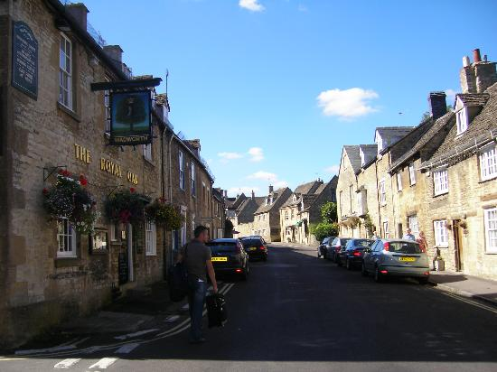 The Angel at Burford: Witney Street which The Angel is on