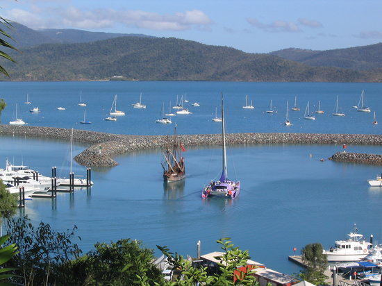 Whitsunday Moorings Bed and Breakfast : Harbour view