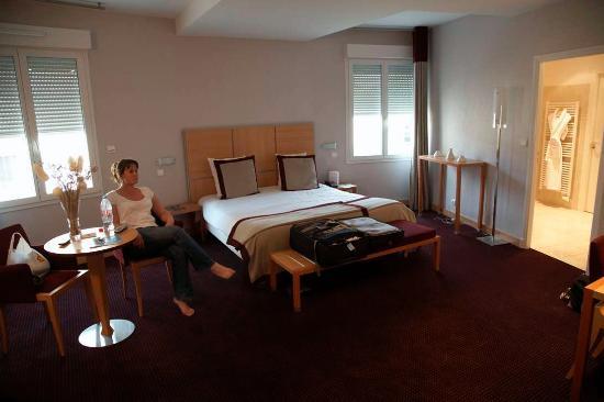 Le Richebourg : Standard double room
