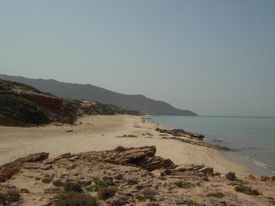 Marina di Arbus, Italia: scivu costa verde