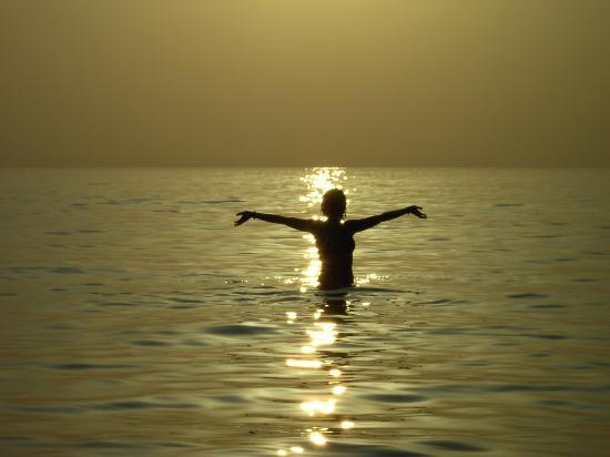 Marina di Arbus, Italia: tramonto Piscinas