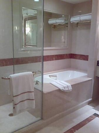The Venetian Macao Resort Hotel: Bath tub was filthy :-( but calls to housekeeping went unanswered