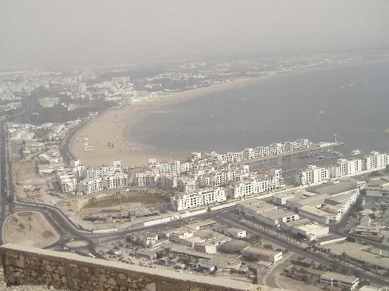 Hotel Le Tivoli: view of agadir beach