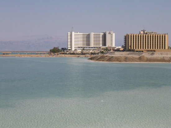 Hod Hamidbar Resort and Spa Hotel: View of the Hod & great private beach