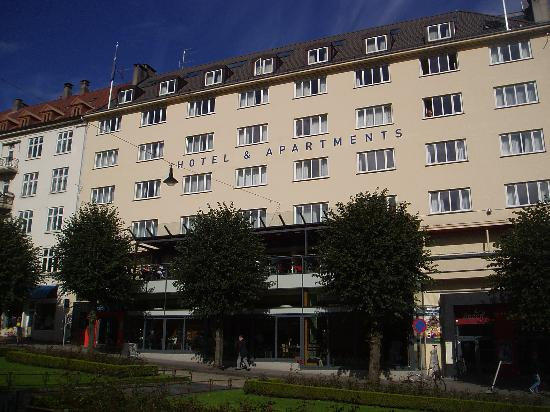 InCity Hotel and Apartments : Incity Apartments at Ole Bulls Plass