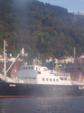 Bergen, Norway: M/S Bruvik - an old ship cruising the fjords during summer months