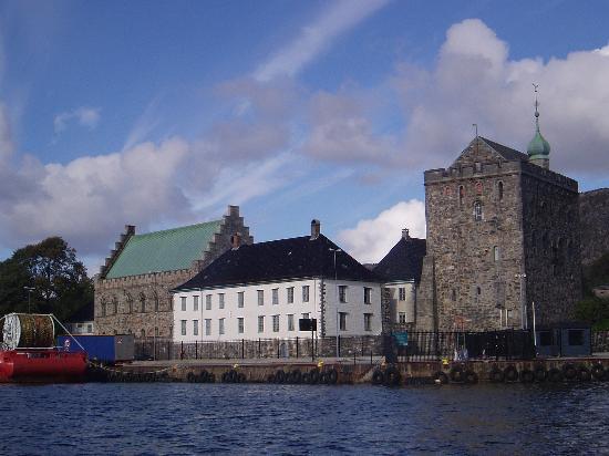 Bergen, Norway: The Rosenkrantz tower and the Haakons Hall