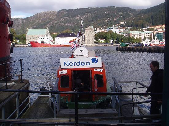 Bergen, Norway: the ferry