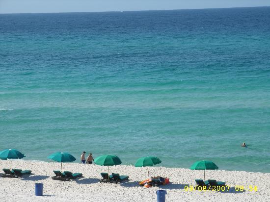 Bikini Beach Resort Motel: View From Our Balcony