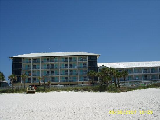 Bikini Beach Resort Motel: Bikini Beach Resort From Water's Edge