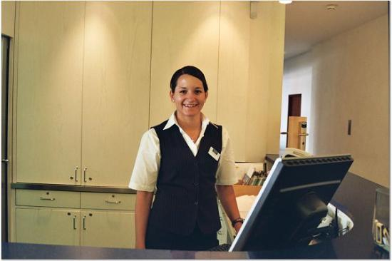 Leonardo Hotel Muenchen City West The Nice Desk Clerk At Apart