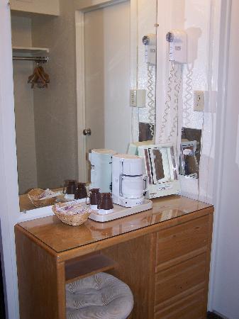 Oasis Inn: couloir de la chambre