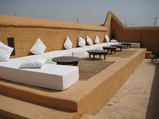 Hotel & Spa Riad Al Jazira : roof terrace