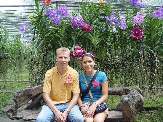 TaNiTa (Riverside) Resort: Beautiful orchid