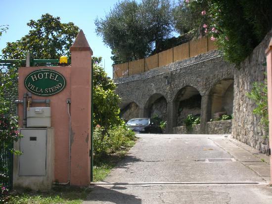 Hotel Villa Steno: entrance