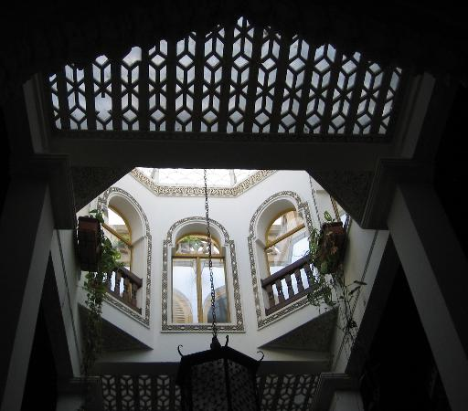 Riad Dar el Mouhit : the roof