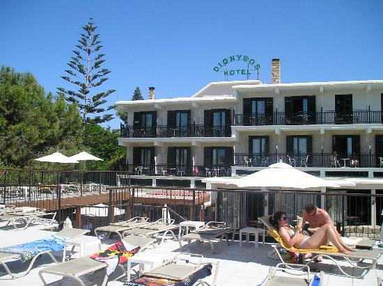 Dionysos Central Hotel : Dionysos from the back