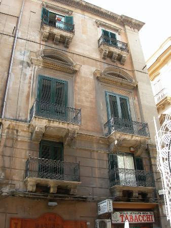 Palazzo Filangeri: From across the steet