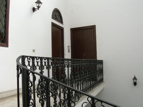 Palazzo Filangeri: Top floor!