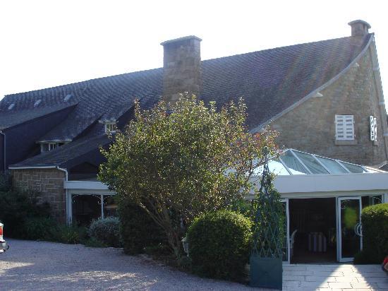 Manoir de Lan Kerellec : l'ingresso dell'hotel