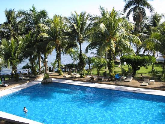 Hotel Villa Caribe: Vista desde el Balcon