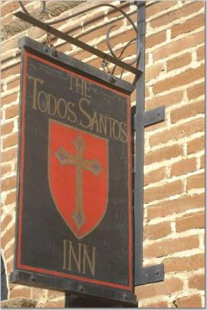 Todos Santos Inn: easy to find
