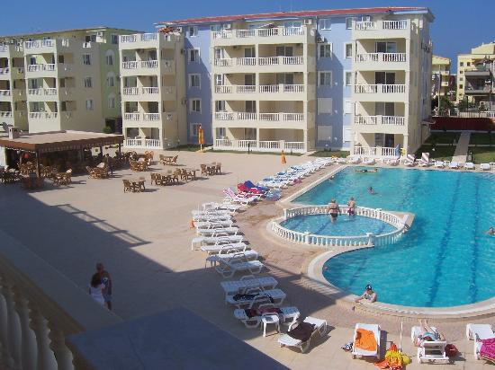 Royal Marina Apartments: one of the two swimming pools