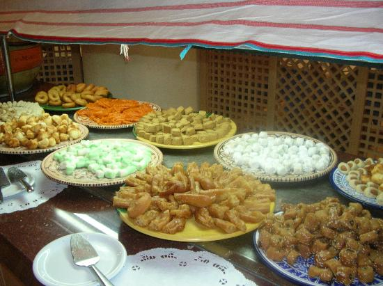 Club Iliade: une partie des choix de desserts