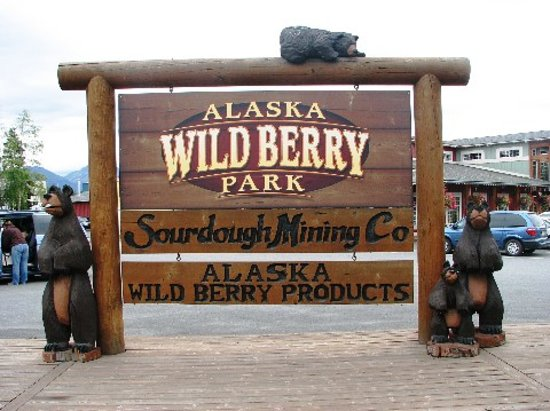 Alaska Wild Berry Products: Entrance