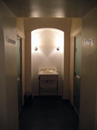 Hotel Keppler: Steam room & sauna