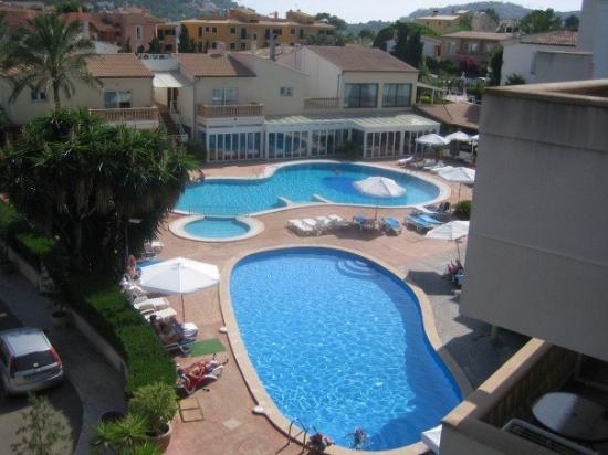 Port d'Andratx, España: view from balcony