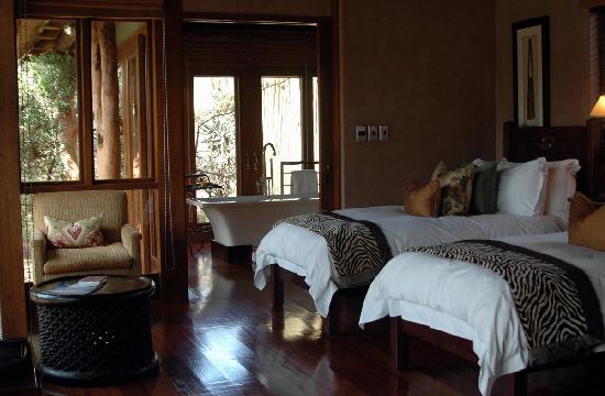 Pumba Private Game Reserve: Bedroom
