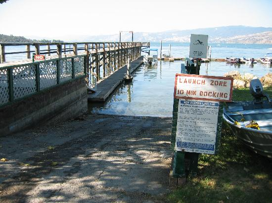 Edgewater Resort and RV Park: Dock and pier