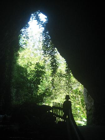 Doue-la-Fontaine, Francia: One of the quarry tunnels